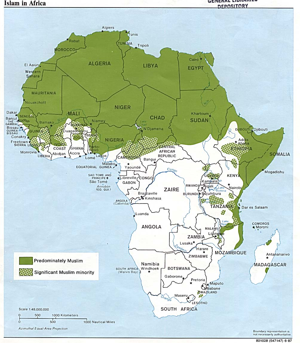 Africa Maps PerryCastañeda Map Collection UT Library Online - Africa map countries