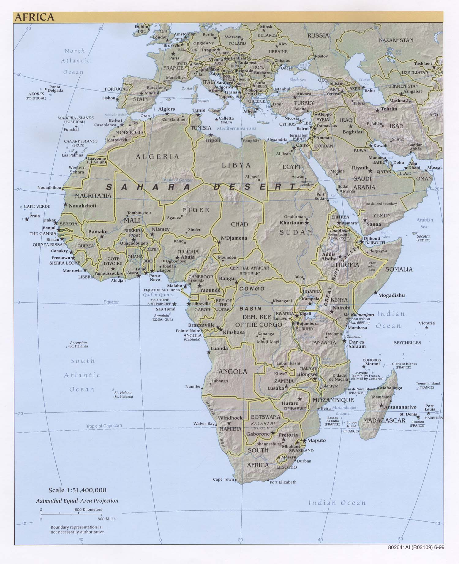 Africa maps perry castaeda map collection ut library online africa maps gumiabroncs Image collections