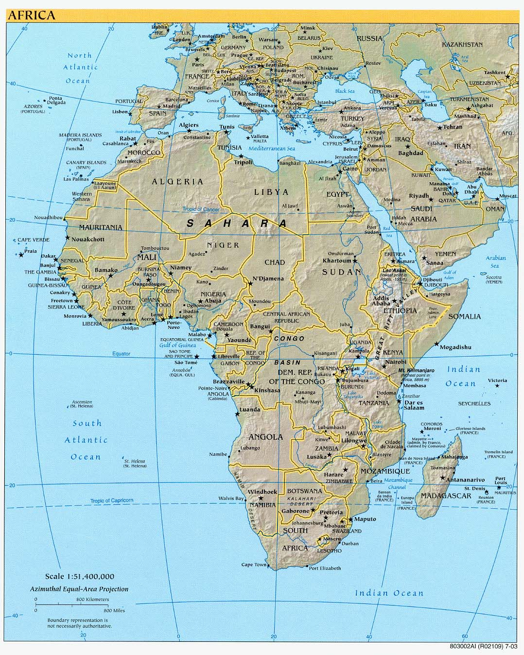 Africa Maps Perry Castaneda Map Collection Ut Library Online