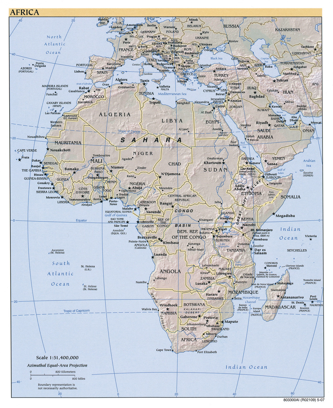 Africa maps perry castaeda map collection ut library online map collection gumiabroncs Gallery