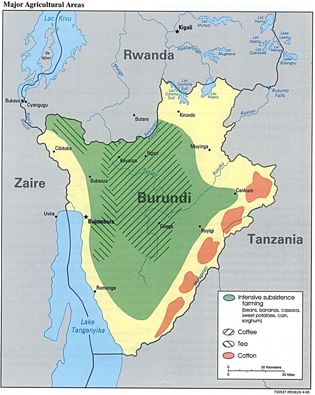 index of maps africa Rwanda Map