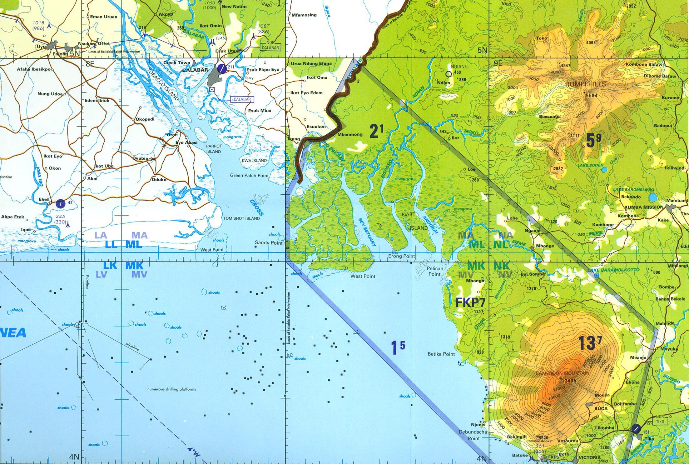 map of akwa ibom state pdf