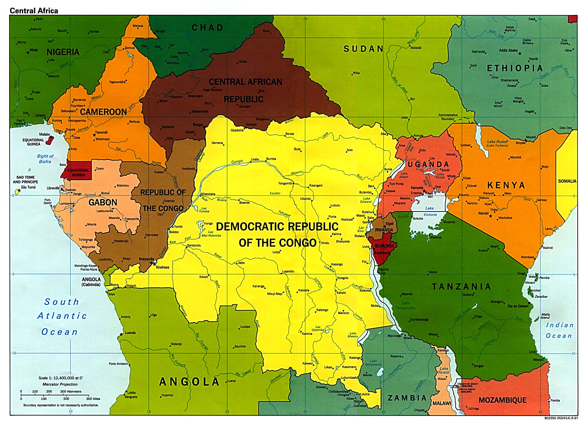 Central african countries