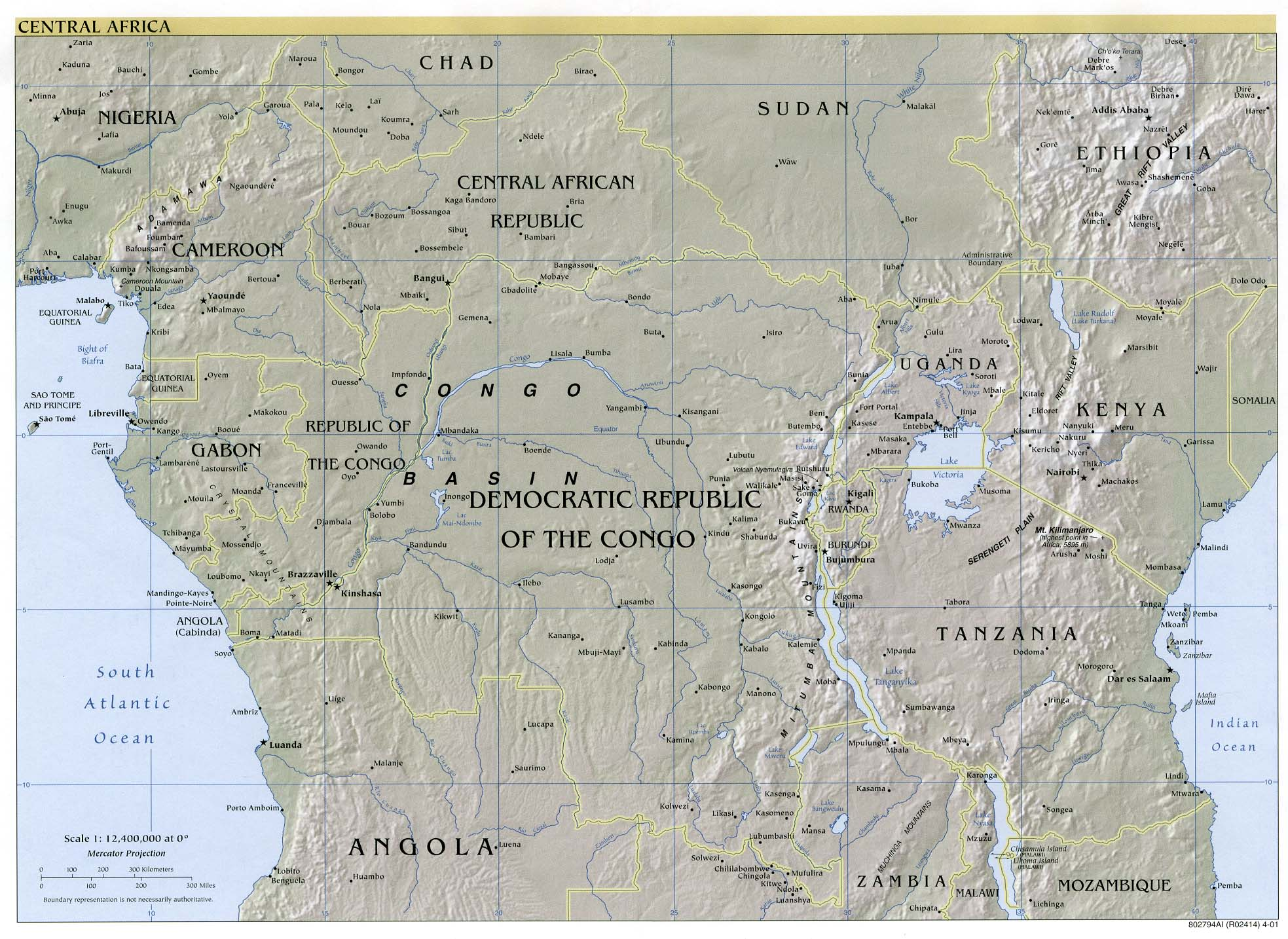 Africa Maps - Perry-Castañeda Map Collection - UT Library Online