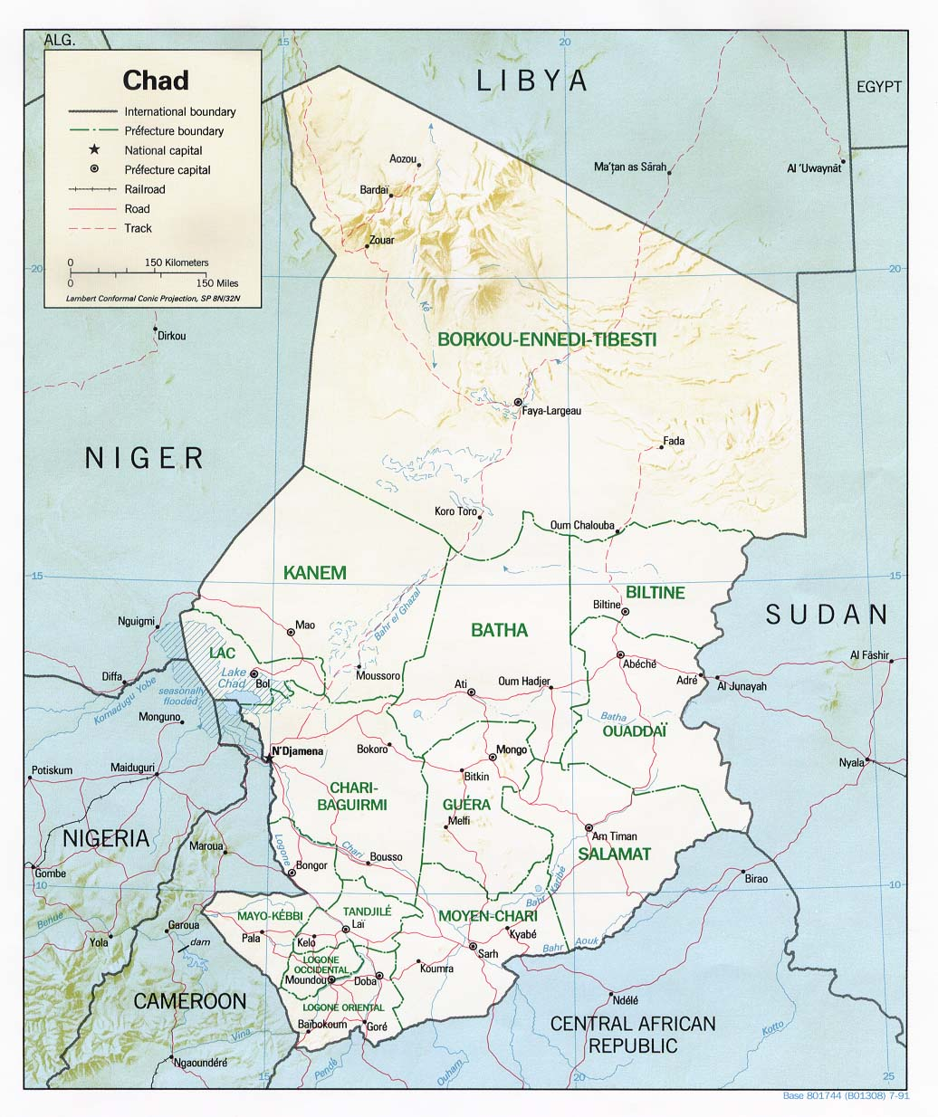 File:Chad relief map 1991, CIA.jpg - Wikimedia Commons