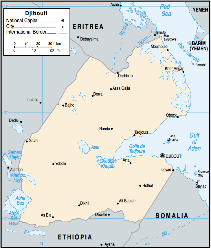Djibouti Maps - Perry-Castañeda Map Collection - UT Library ...