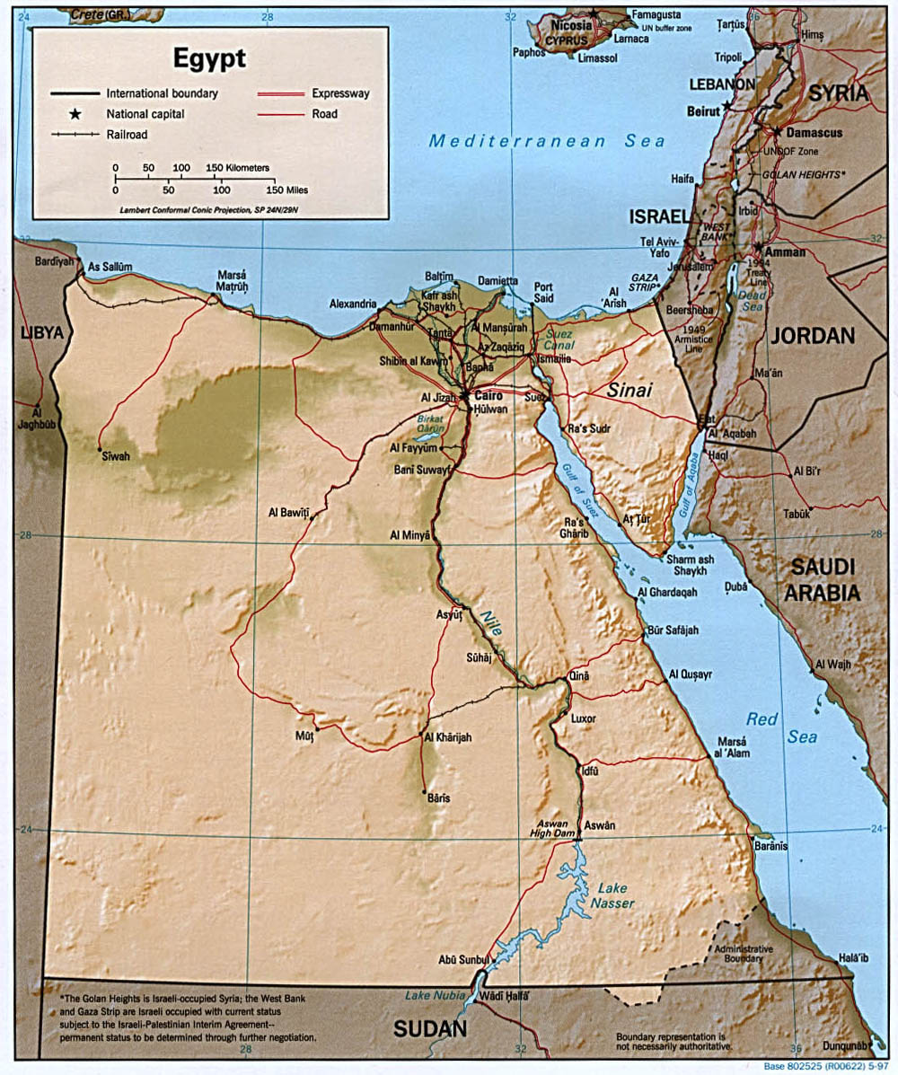 Map Of Egypt A Source For All Kinds Of Maps Of Egypt - Unlabeled map of egypt