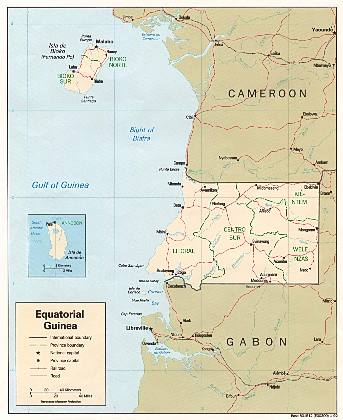 Equatorial guinea map of equatorial guinea gumiabroncs Image collections