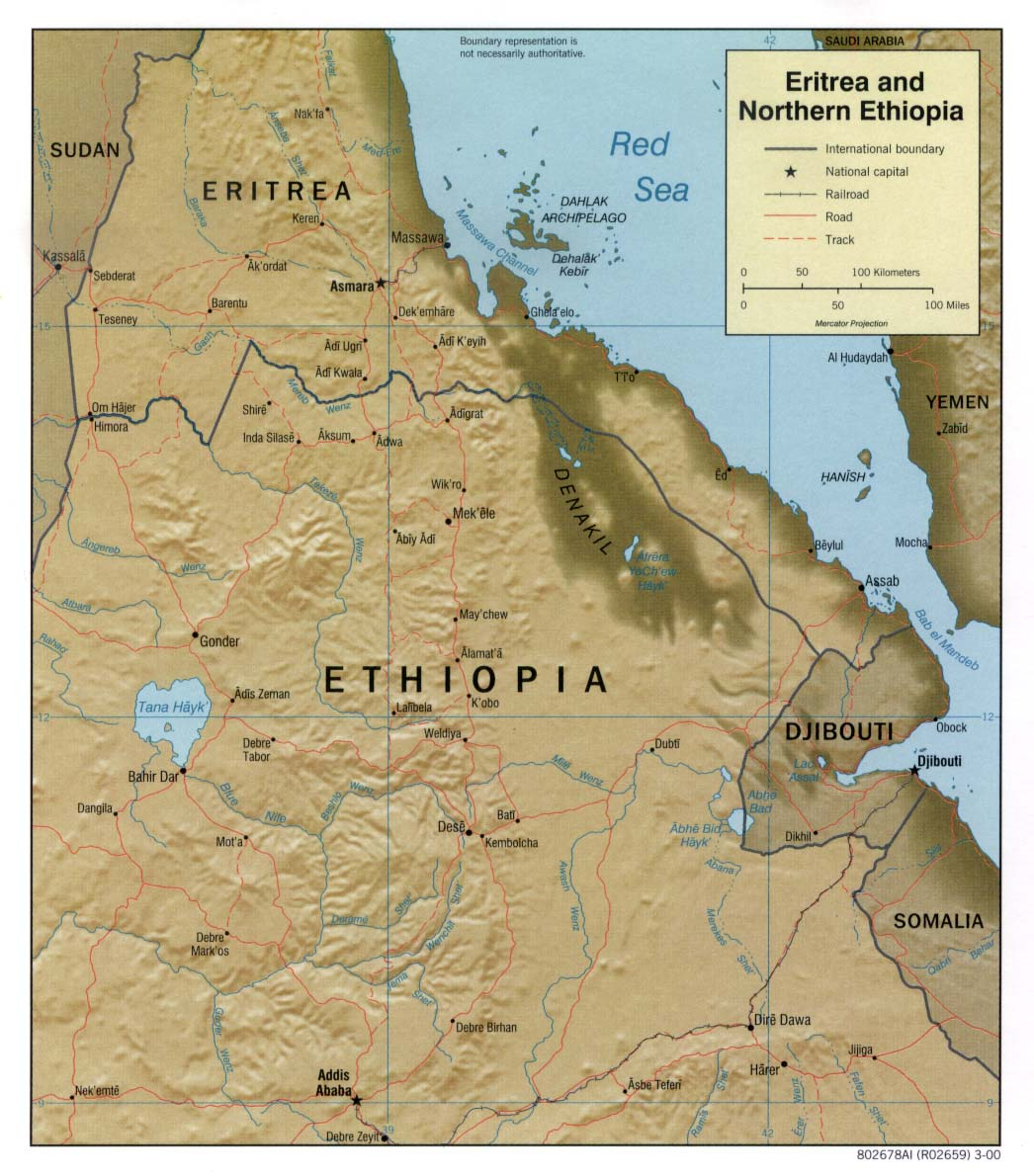 Ethiopia maps perry castaeda map collection ut library online ethiopia maps gumiabroncs Image collections