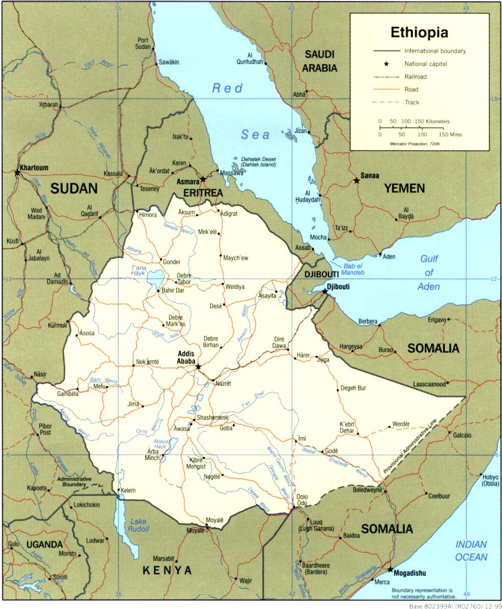 Ethiopia Maps - Perry-Castañeda Map Collection - UT Library Online