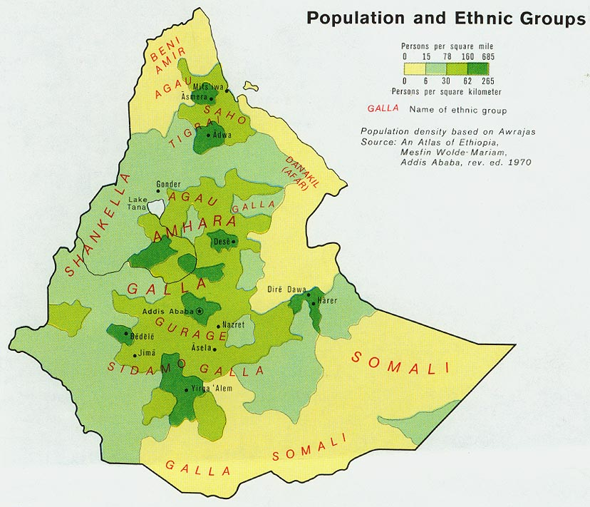 Ethiopia maps perry castaeda map collection ut library online ethiopia population gumiabroncs Choice Image