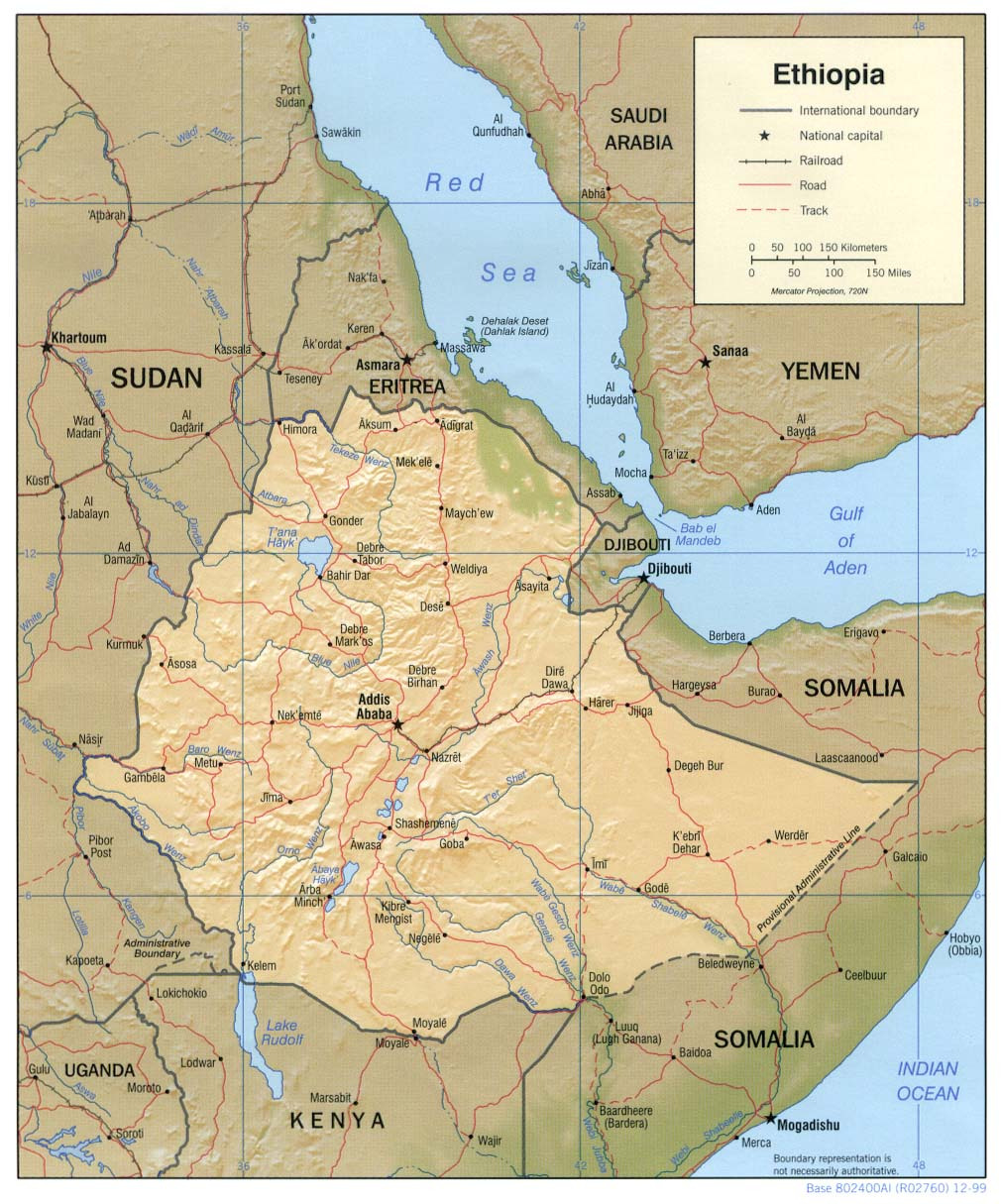 Ethiopia maps perry castaeda map collection ut library online ethiopia maps gumiabroncs Choice Image