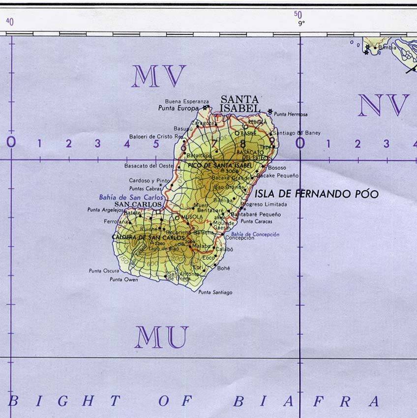 Equatorial Guinea Maps - Perry-Castañeda Map Collection - UT Library ...
