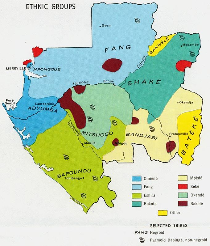 Gabon Maps PerryCastañeda Map Collection UT Library Online - Gabon map