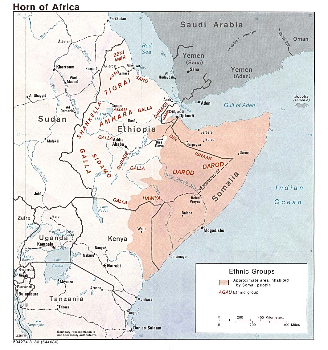 east africa map free download