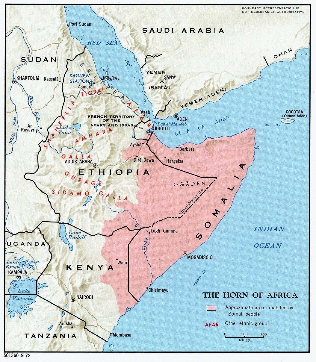 ... Horn Of Africa ...