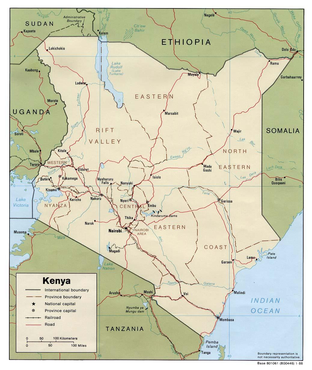 kenya maps perrycasta241eda map collection ut library