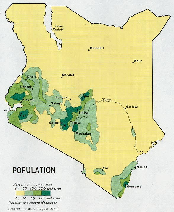 Kenya Maps - Perry-Castañeda Map Collection - UT Library Online