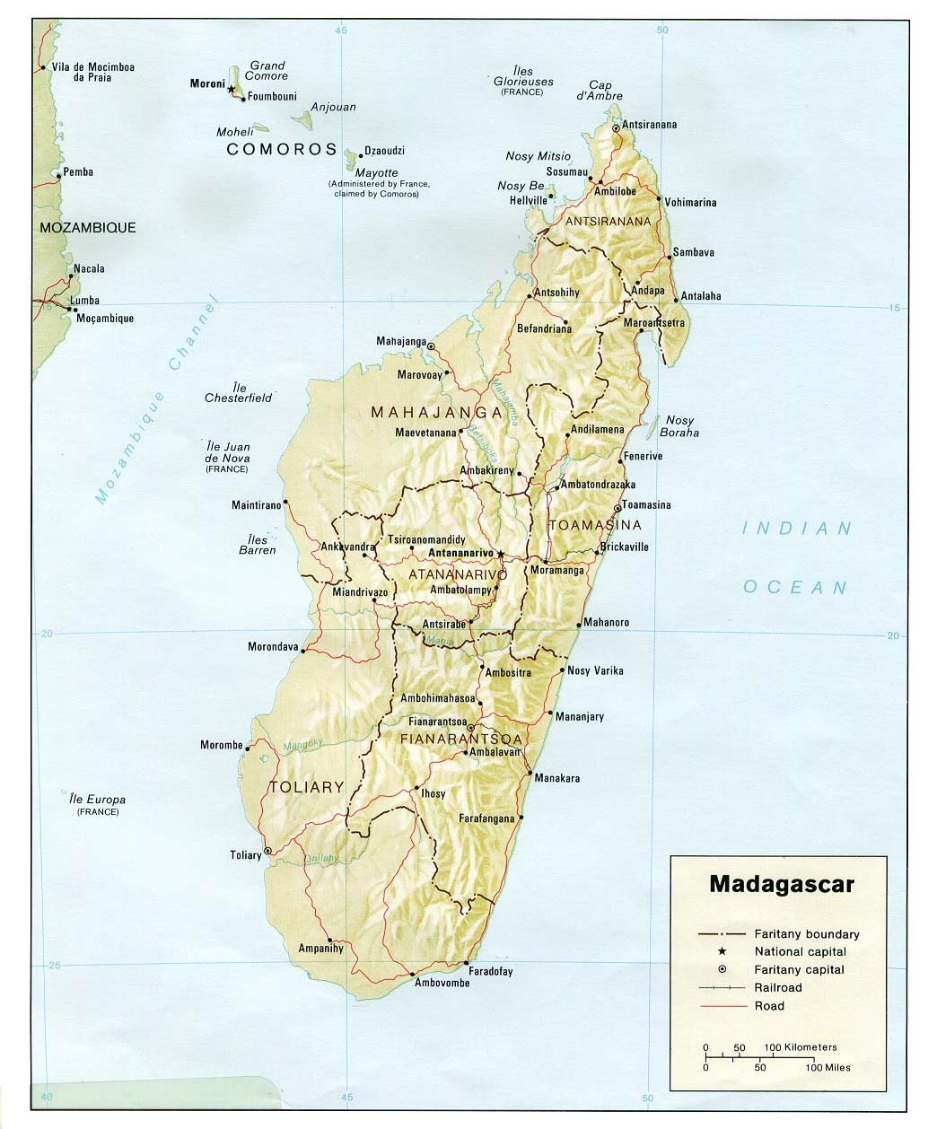 Map Of Africa Madagascar.Madagascar Maps Perry Castaneda Map Collection Ut Library Online