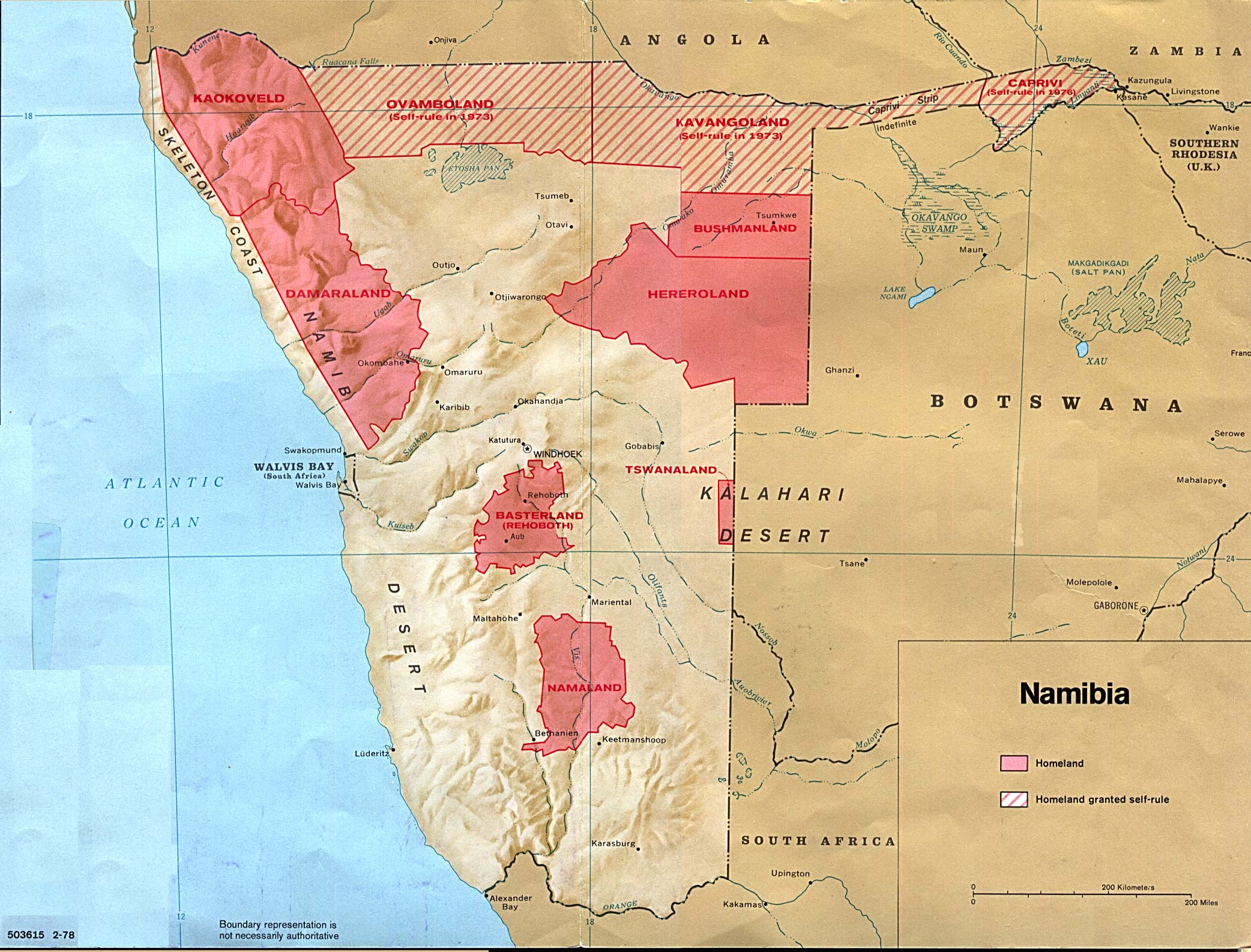 Namibia Maps PerryCastaeda Map Collection UT Library Online