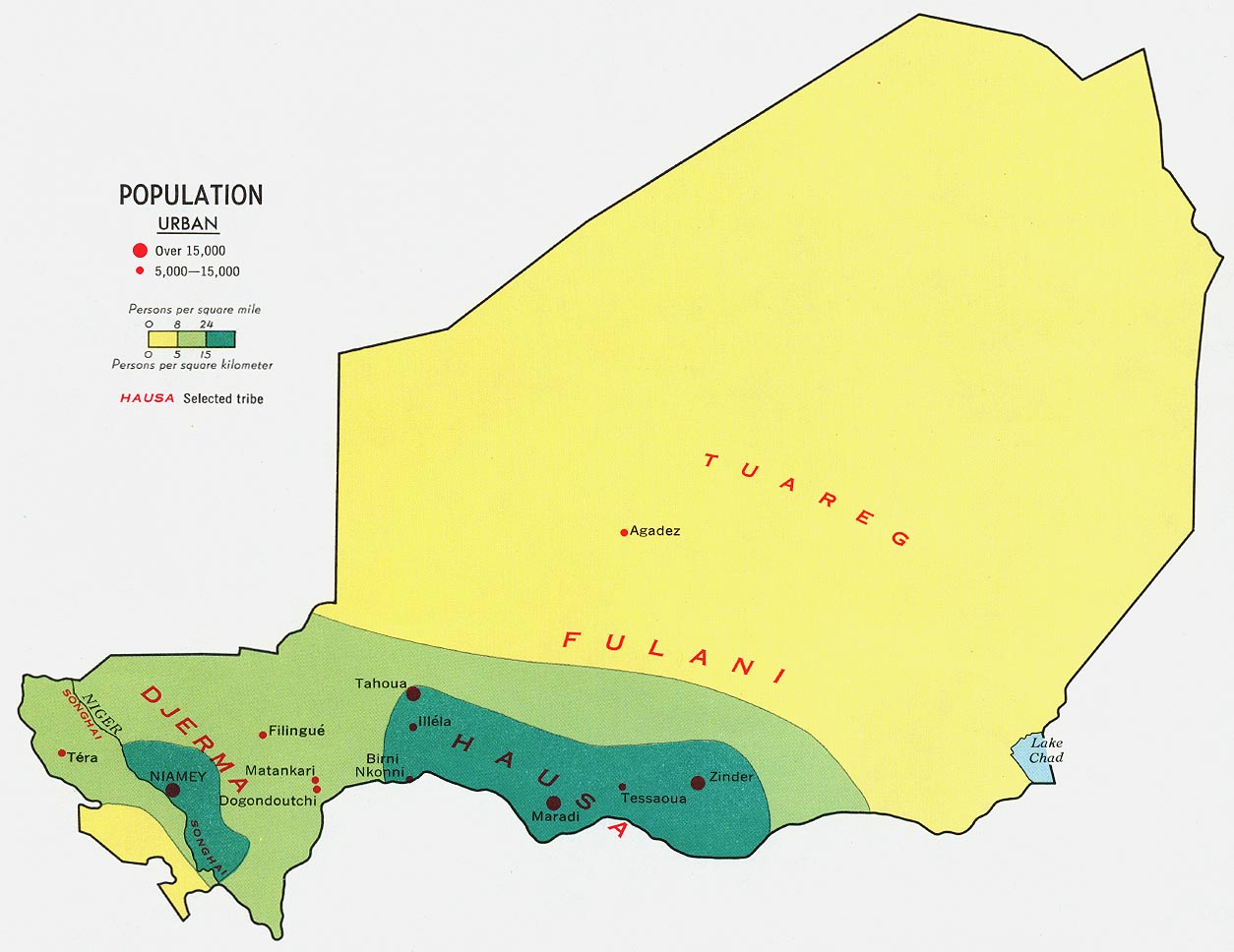 Niger Maps PerryCastañeda Map Collection UT Library Online - Niger map hd pdf