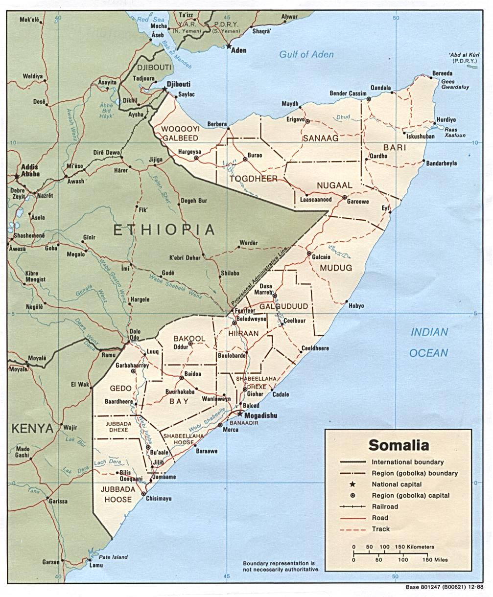 Somalitalkcom 18ka Gobol ee Soomaaliya