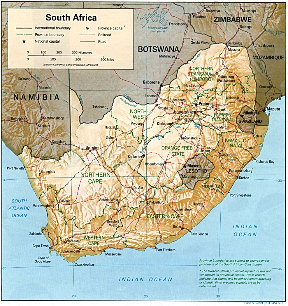 South Africa Maps PerryCastañeda Map Collection UT Library Online - Map of south africa