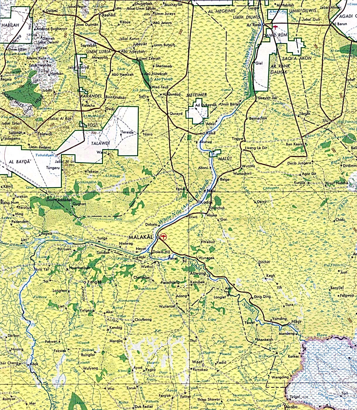South Sudan Maps - Perry-Castañeda Map Collection - UT Library Online