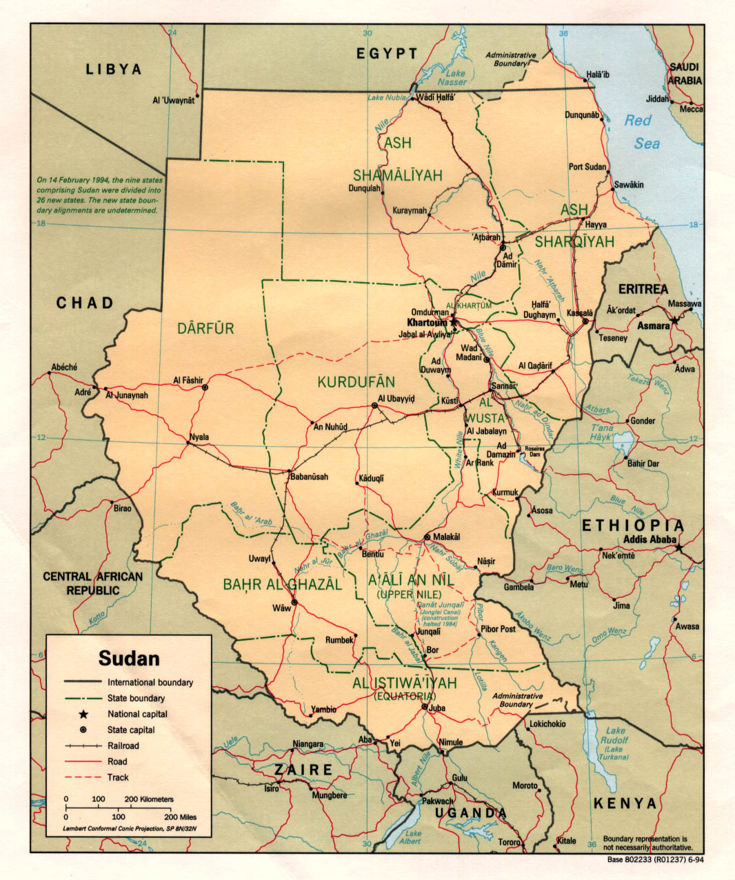 South Sudan Maps PerryCastañeda Map Collection UT Library Online - Picture of a map