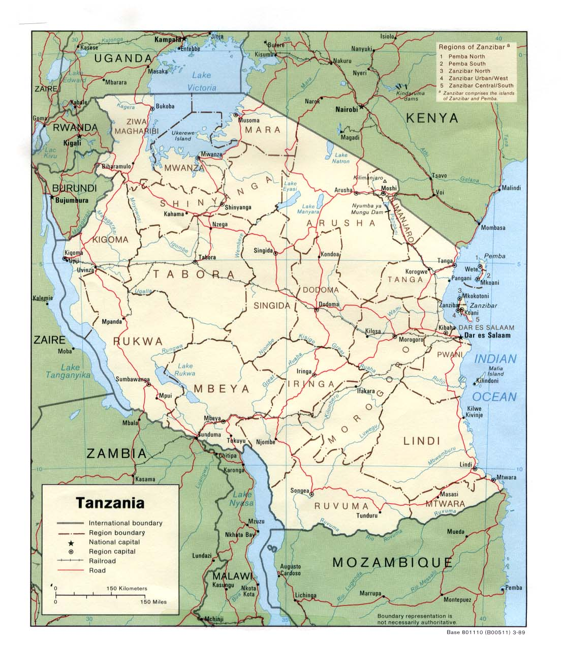 tanzania maps perry castaà eda map collection ut library online