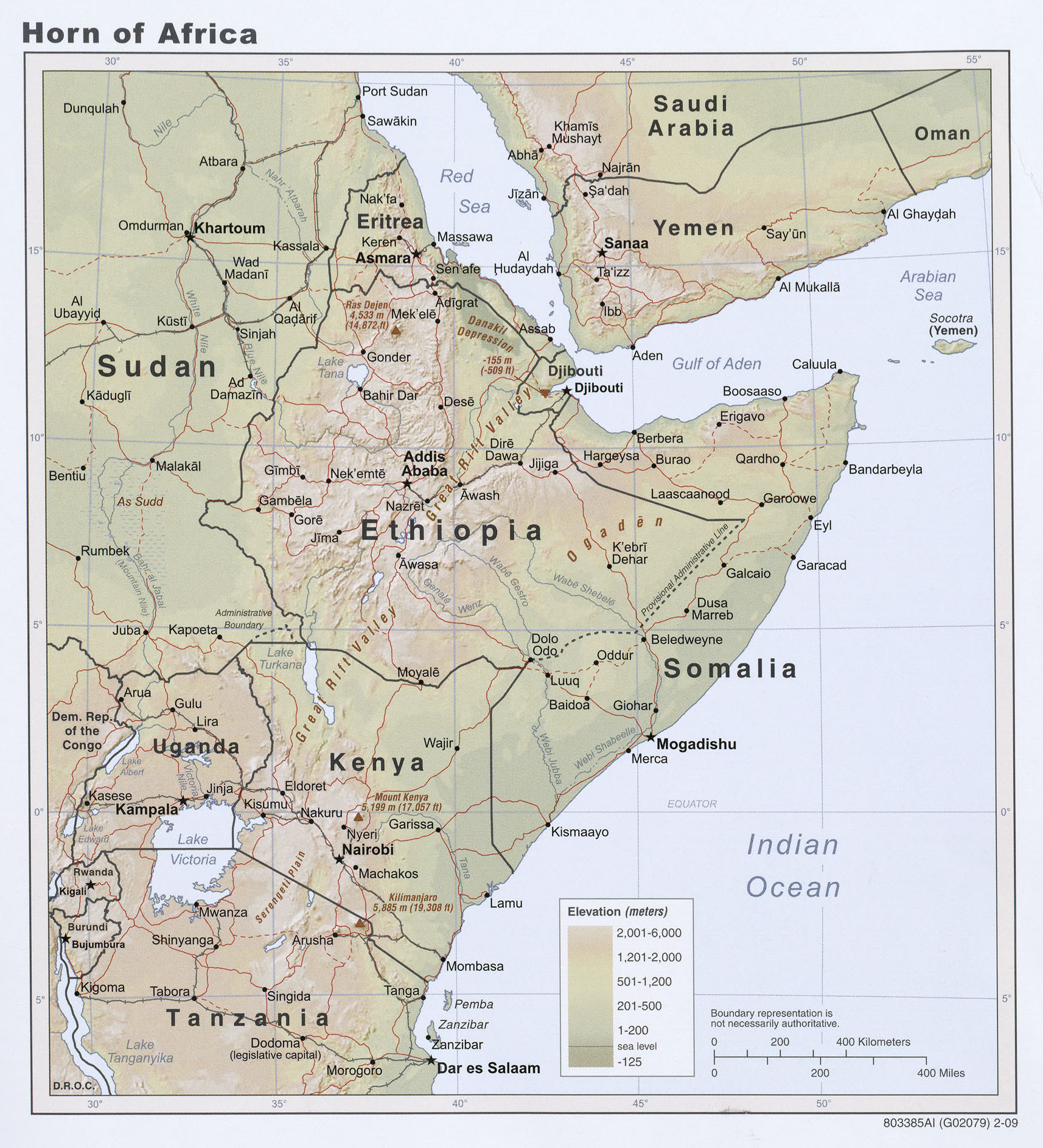 Africa Maps - Perry-Castañeda Map Collection - UT Liry Online on