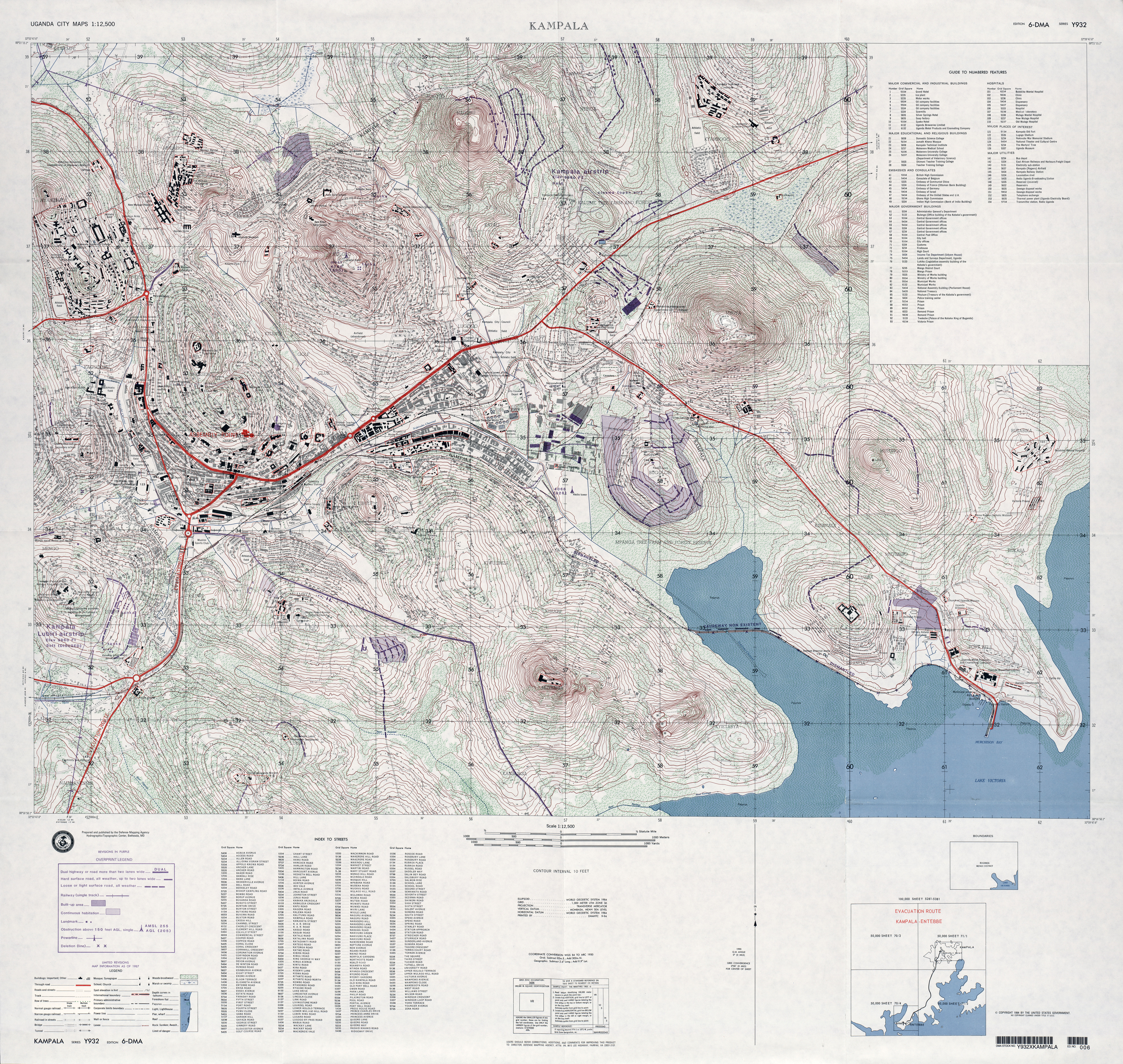 Uganda Maps PerryCastañeda Map Collection UT Library Online - Dma map us 2016