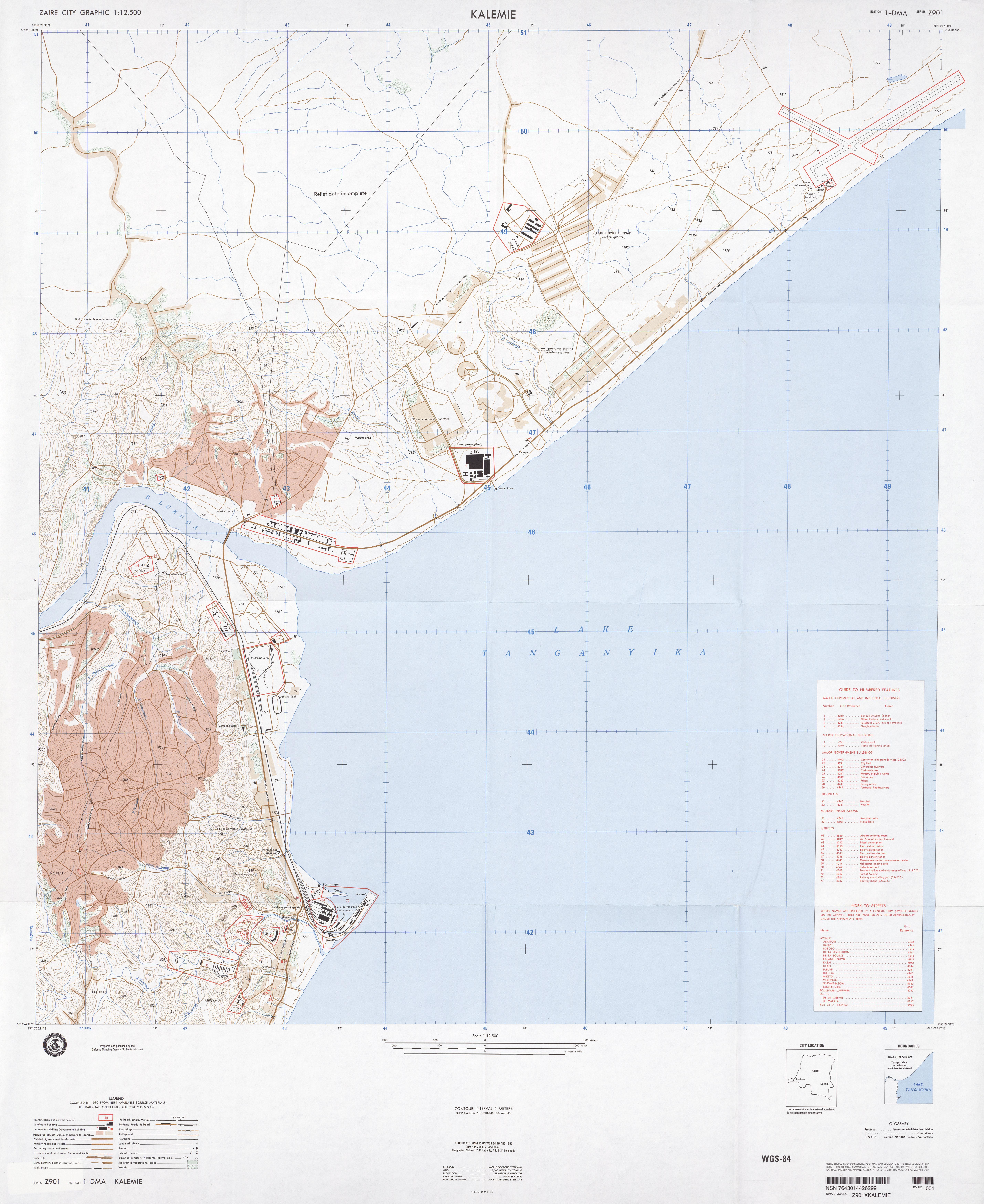 Congo Democratic Republic Maps PerryCastañeda Map Collection - Dma map us 2016