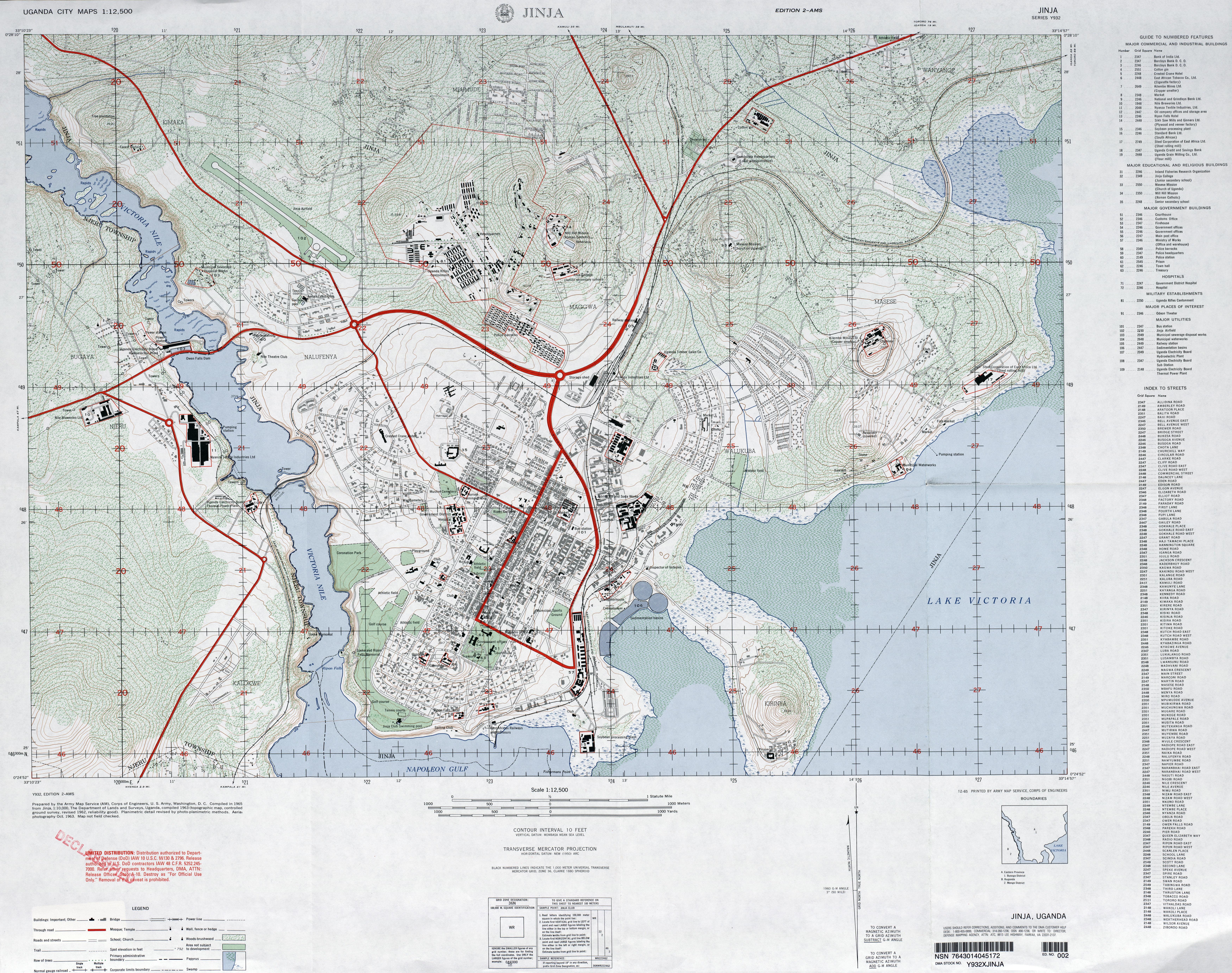 Uganda Maps PerryCastaeda Map Collection UT Library Online