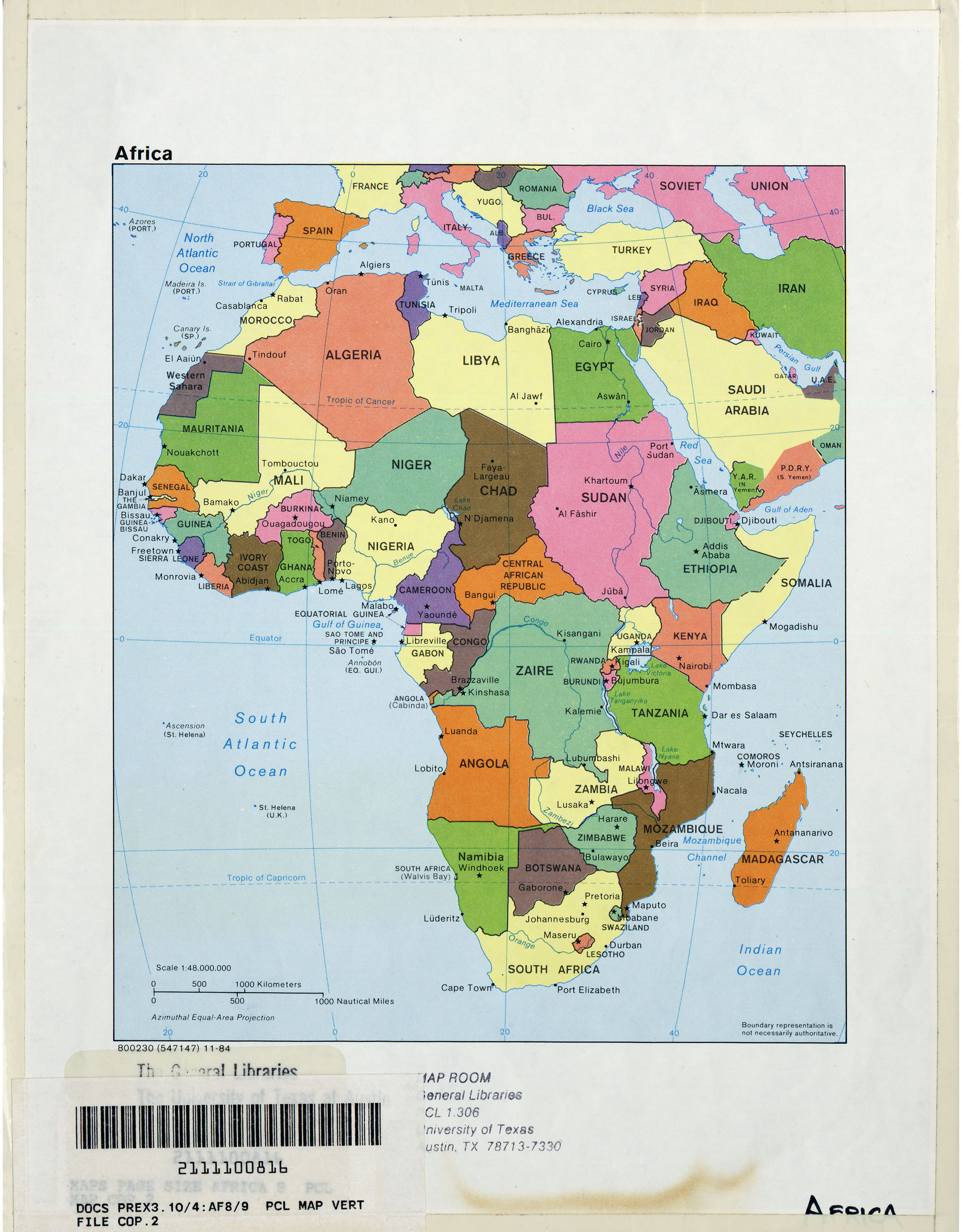 Africa Maps PerryCastañeda Map Collection UT Library Online - Political map of mauritius