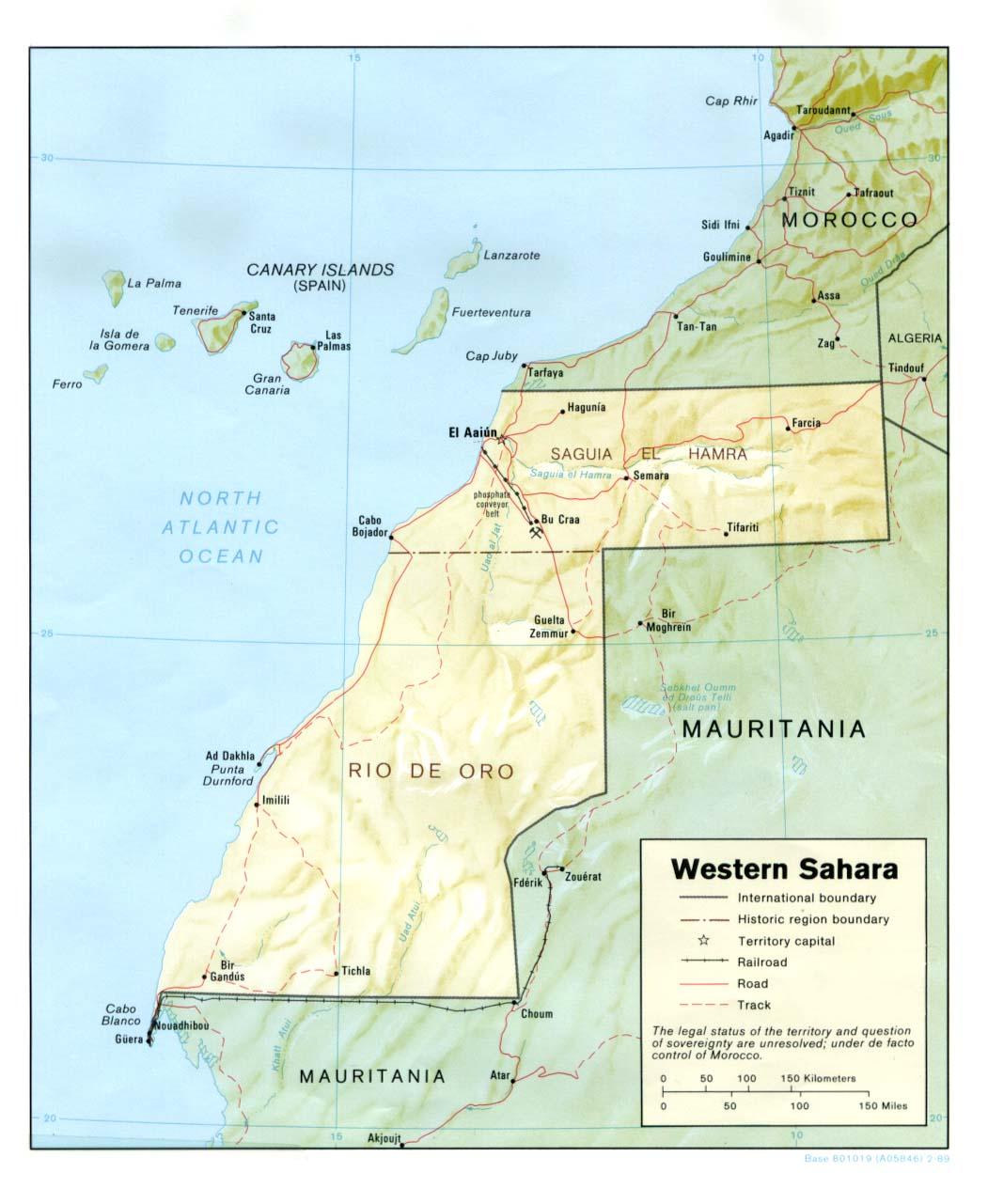 西サハラ (サハラ・アラブ民主共和国)