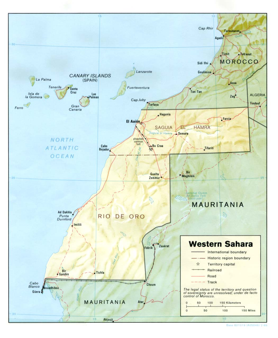 Western Sahara Republic Maps PerryCastañeda Map Collection UT - democratic republic of the clickable map