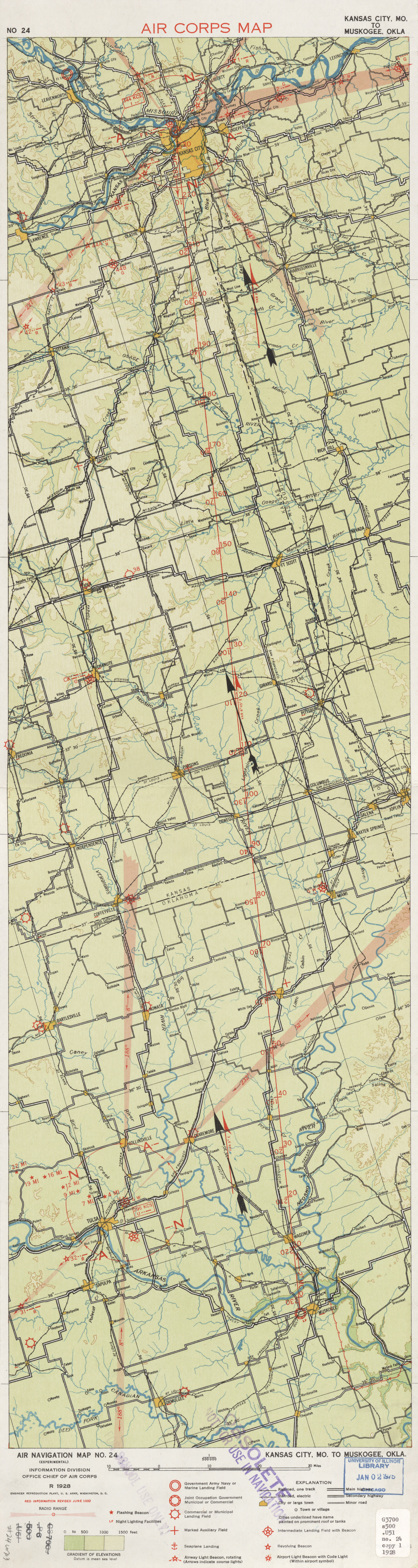 United States Air Navigation Maps - Perry-Castañeda Map Collection ...