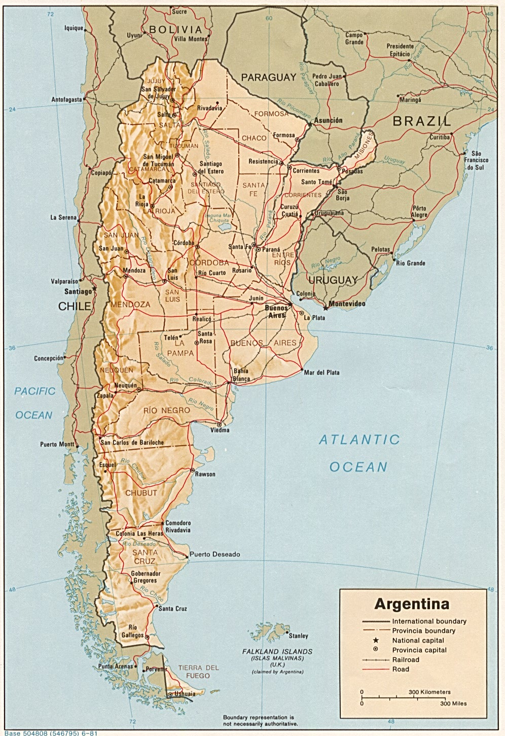 Argentina Maps - Perry-Castañeda Map Collection - UT Library ...