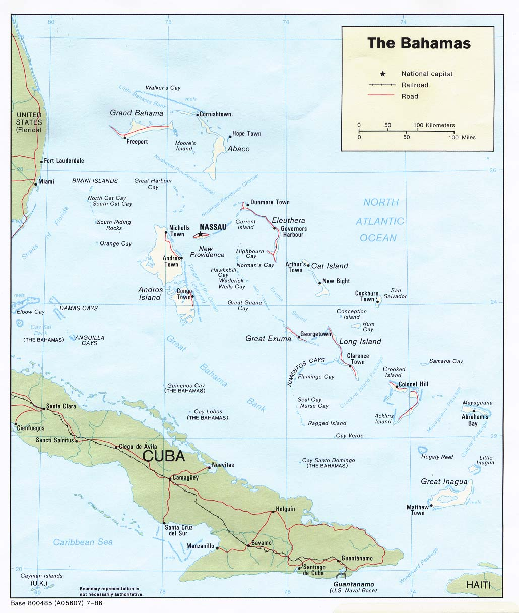 Americas maps perry castaeda map collection ut library online bahamas publicscrutiny Images