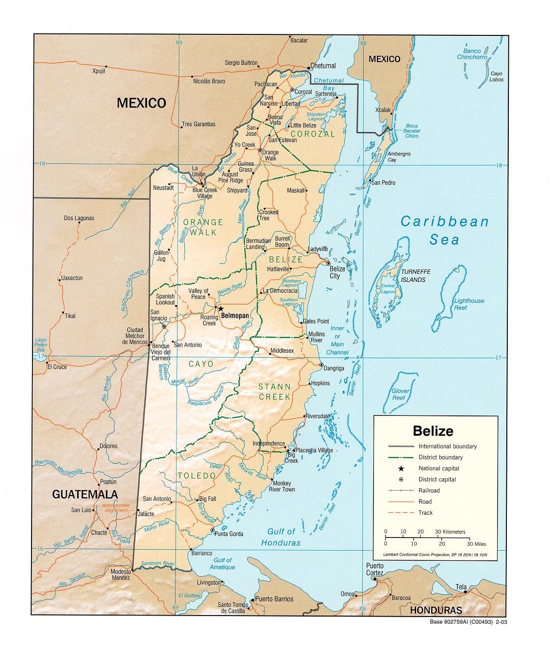 Maps of Latin America - LANIC