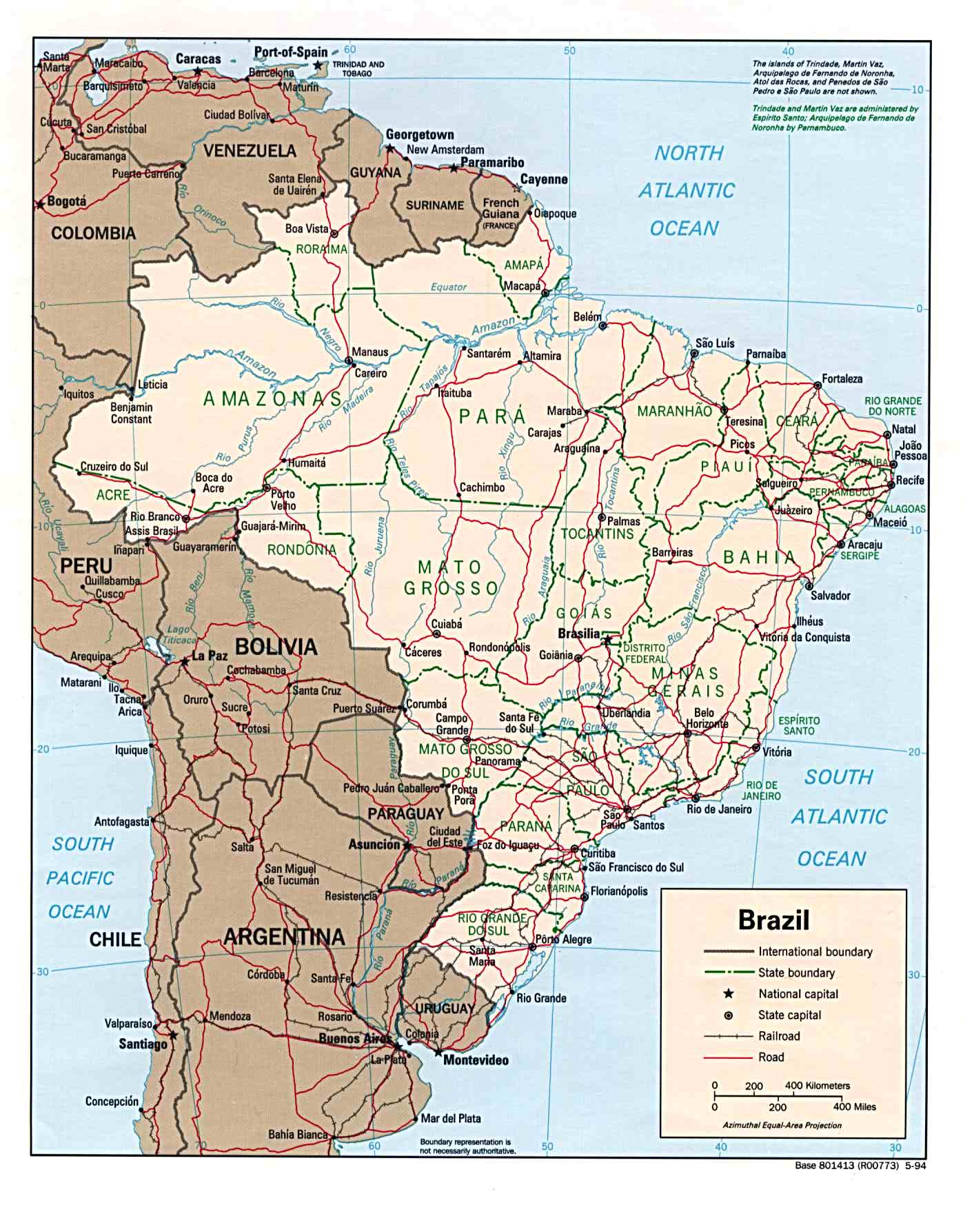 Brazil Maps - Perry-Castañeda Map Collection - UT Library Online