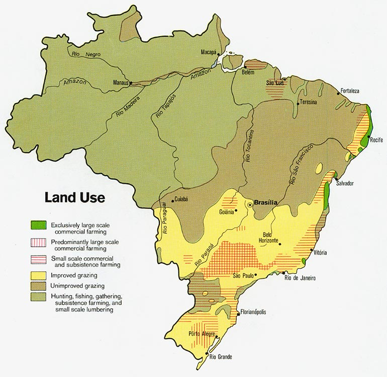 Brazil Maps PerryCastaeda Map Collection UT Library Online