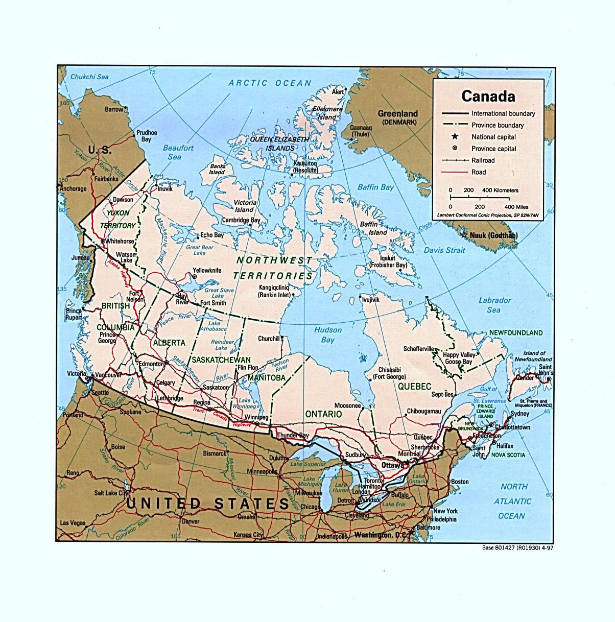 Canada Maps - Perry-Ca...