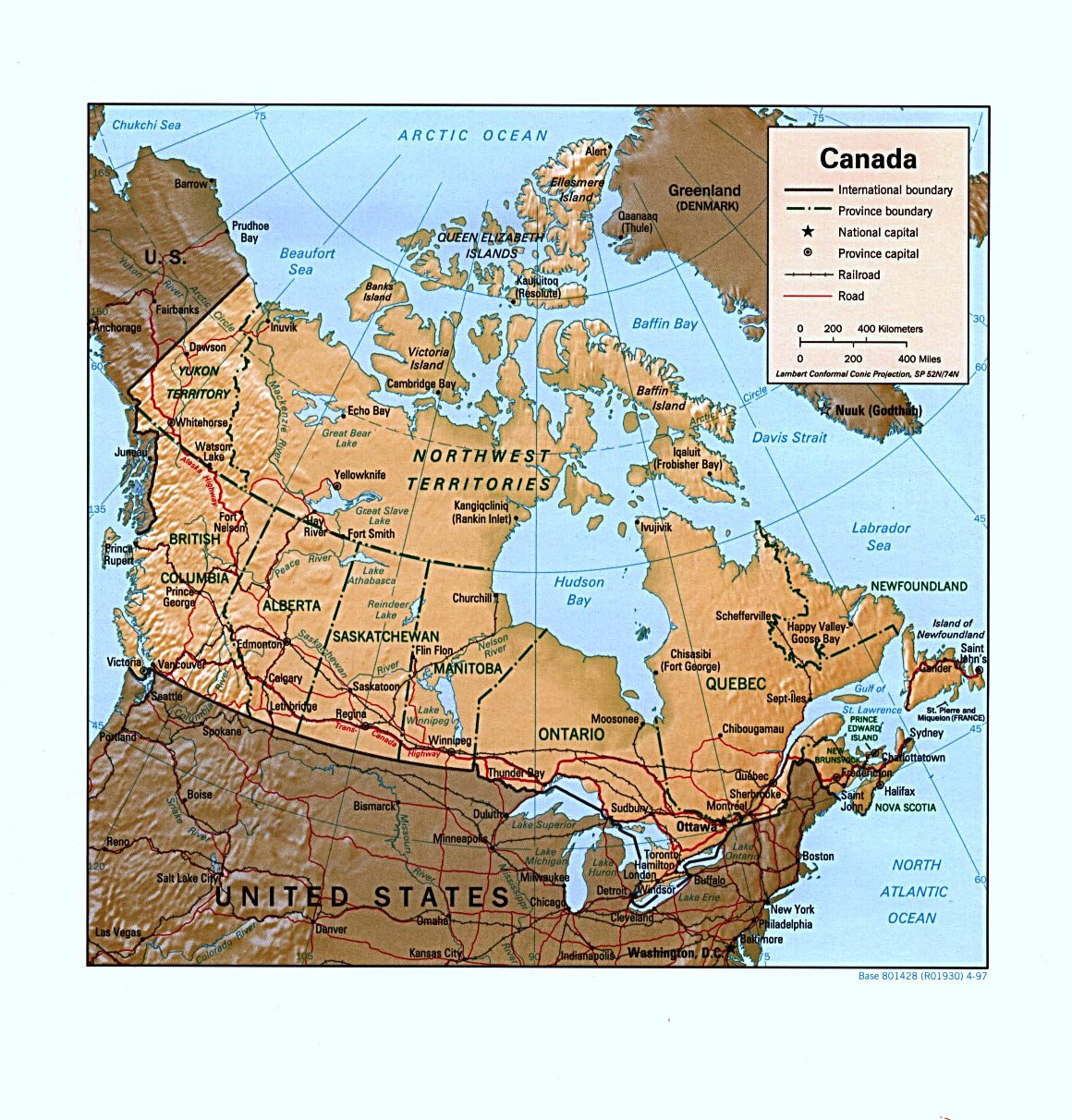 Canada maps perry castaeda map collection ut library online canada maps gumiabroncs Images