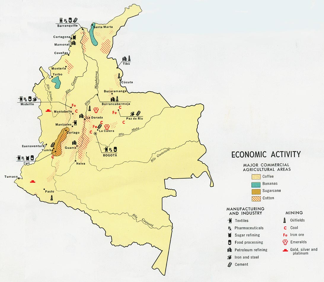 Colombia Maps - Perry-Castañeda Map Collection - UT Liry Online on