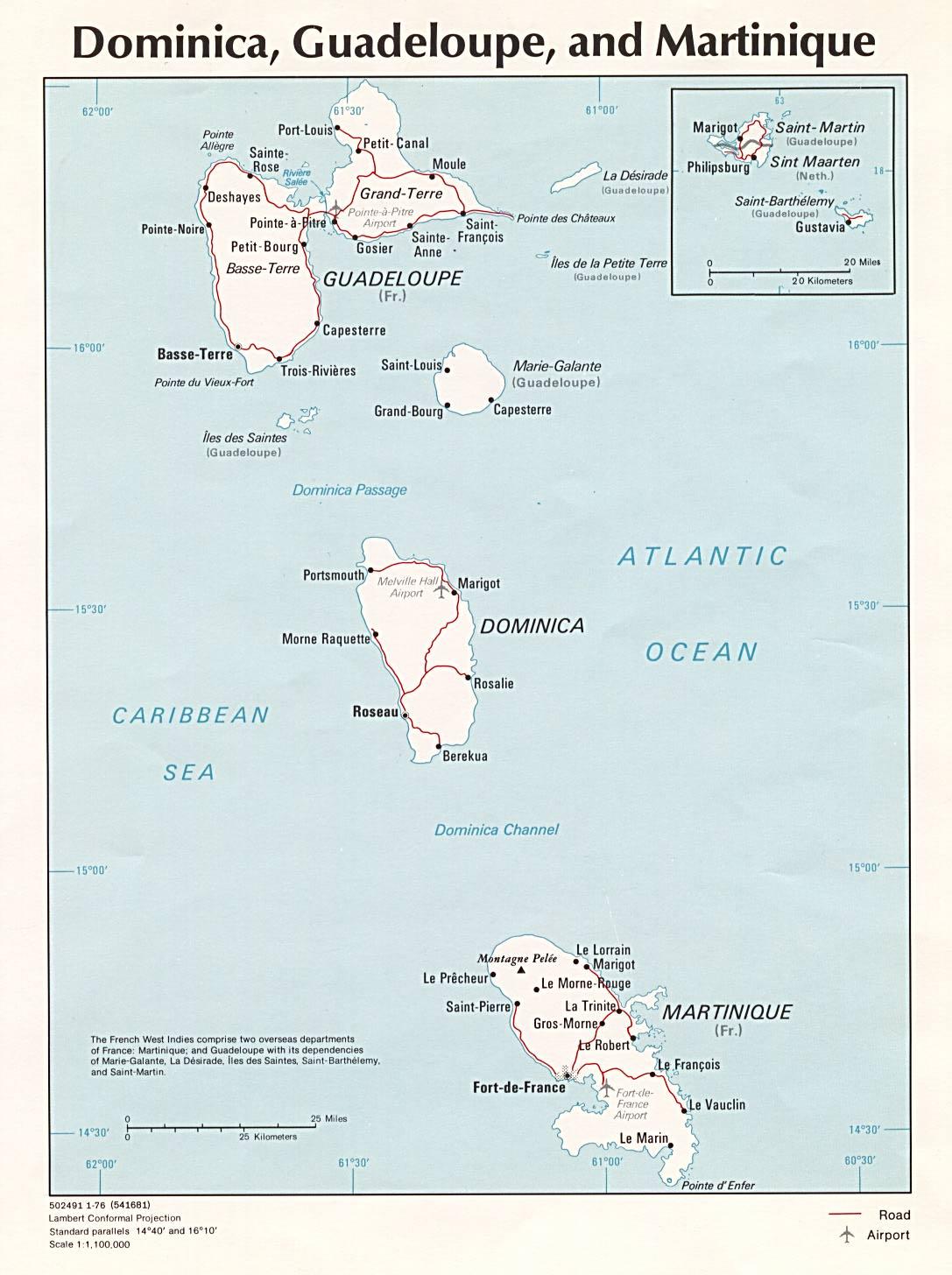 Célèbre Cartes des Caraïbes - Domnik.net CZ36