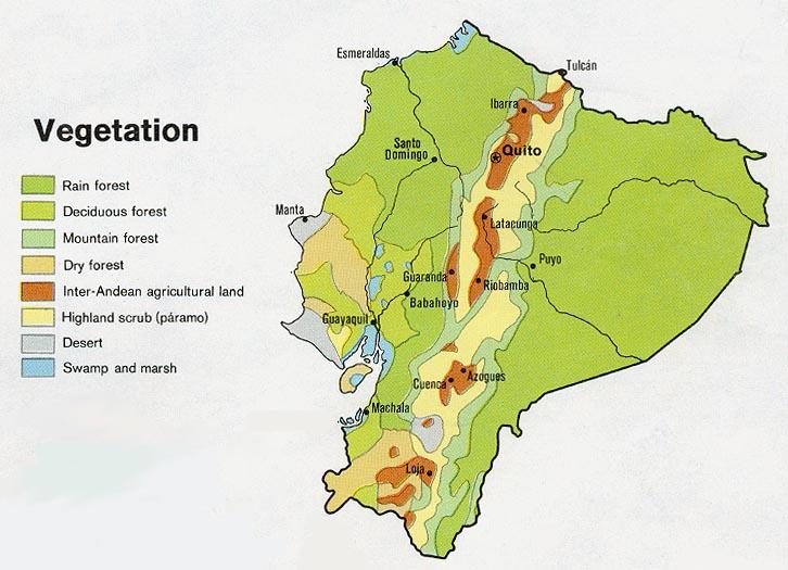 Ecuador Maps - Perry-Castañeda Map Collection - UT Library Online