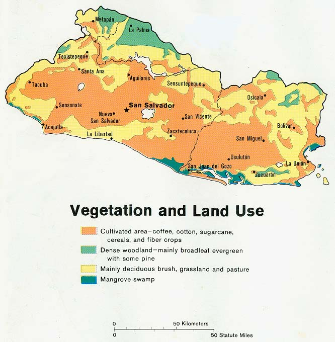 El Salvador Maps PerryCastañeda Map Collection UT Library Online - Cities map el salvador map