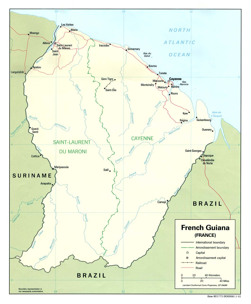 French Guiana Maps PerryCastaeda Map Collection UT Library Online